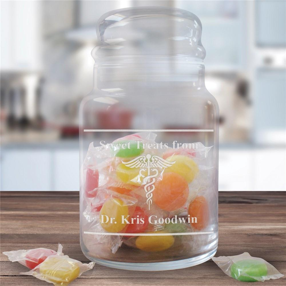 Personalized Doctor Treat Jar