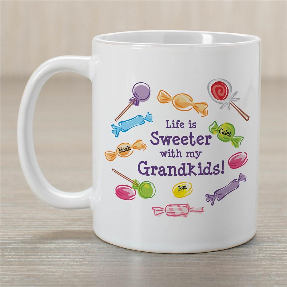 Personalized Life Is Sweeter Coffee Mug