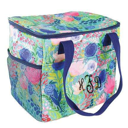 "Personalized 12"" Cube Insulated Cooler Tote Bag"
