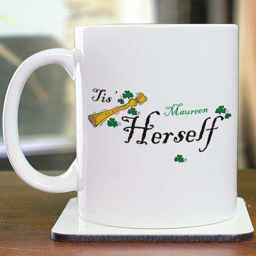 Personalized Tis Herself Coffee Mug