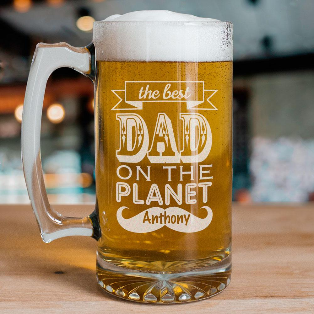 Personalized Engraved Planet Mug