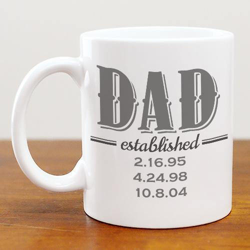 Personalized Established Ceramic Mug