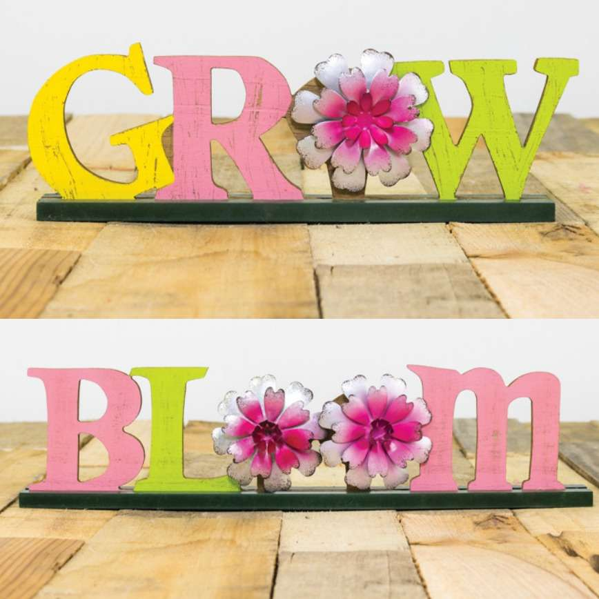 Bloom & Grow Floral Tabletop Easter Decoration