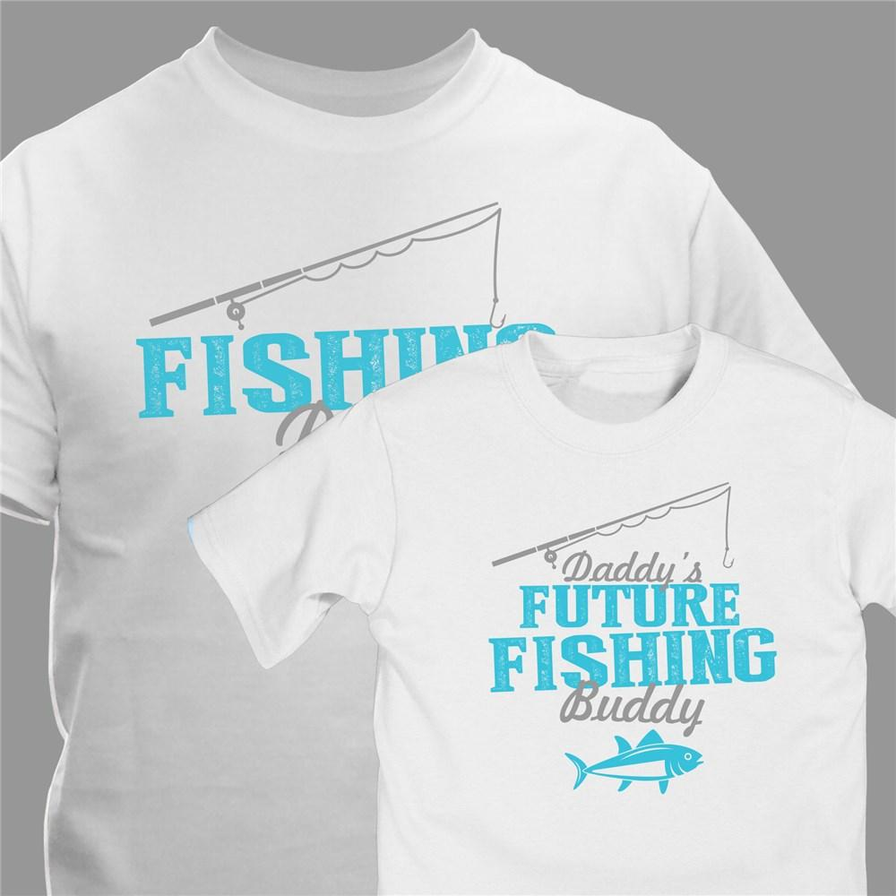 Personalized Future Fishing Buddy T-Shirt