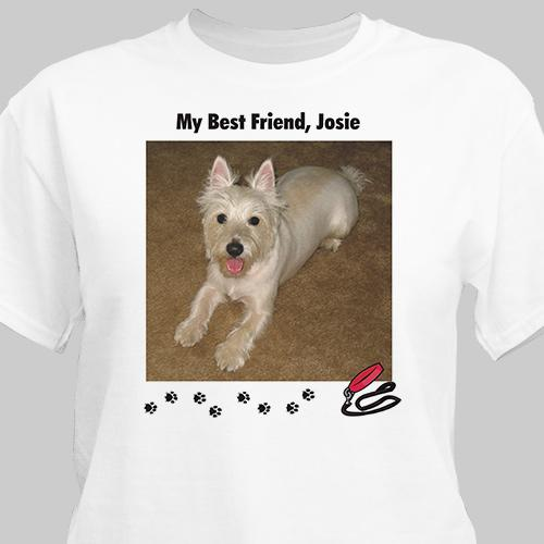 Personalized My Best Friend Dog Photo T-Shirt