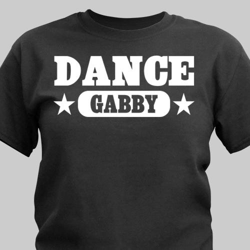 Personalized Dance Sports T-Shirt