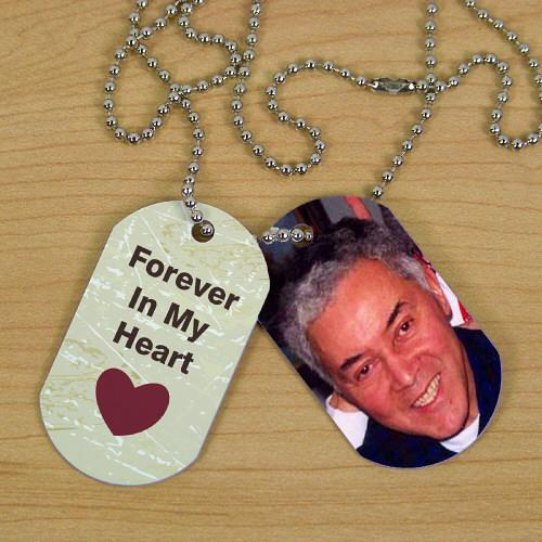 Personalized Memorial Photo Dog Tags