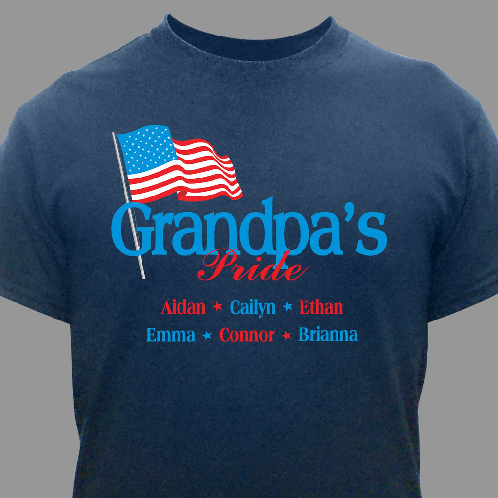 Personalized Usa Pride T-Shirt