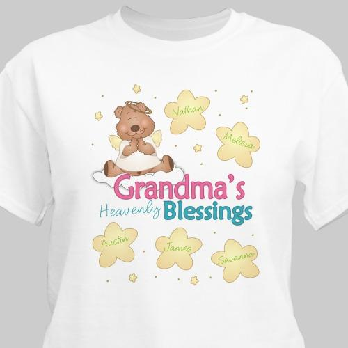 Personalized Heavenly Blessings T-Shirt