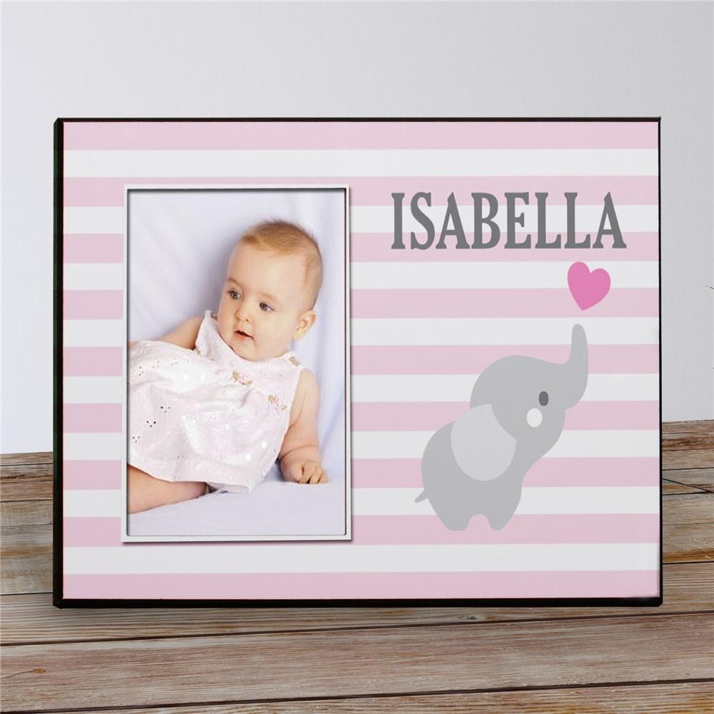 Personalized Elephant Baby Photo Frame