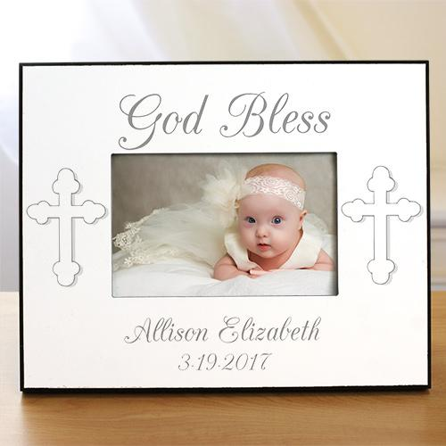 Personalized God Bless... Baptism Frame