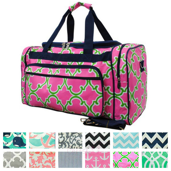 "23"" Duffle Gym Bag Sports Carry On Travel Tote - Gifts Happen Here"