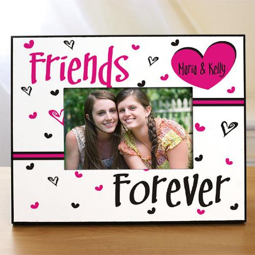 Personalized Friends Forever Printed Frame