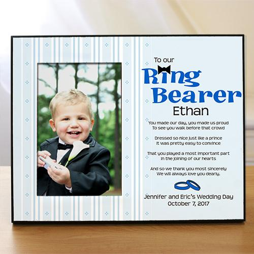 Personalized Ring Bearer Printed Frame