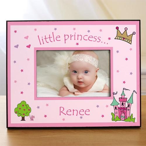 Personalized Little Princess Printed Frame