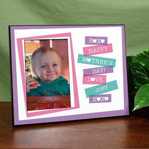 Personalized Happy Mother's Day Printed Frame