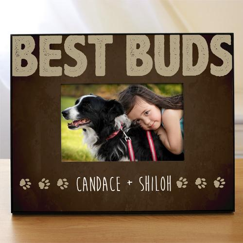 Personalized My Bff Dog Frame
