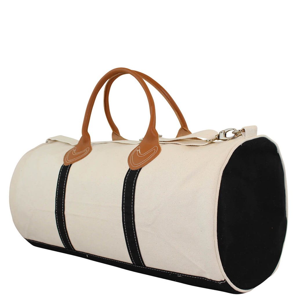 Personalized Round Travel Duffel Bag