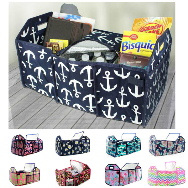 Trunk Organizer Large Utility Tote Bag
