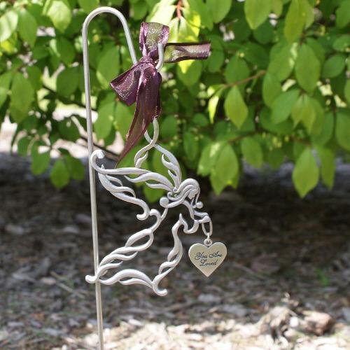 Personalized Memorial Angel Garden Stake Sympathy Gift