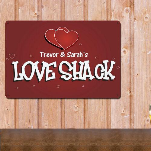 Personalized Love Shack Sign