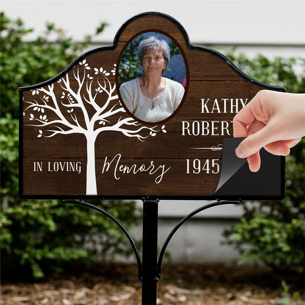 Personalized In Loving Memory Magnetic Sign Set