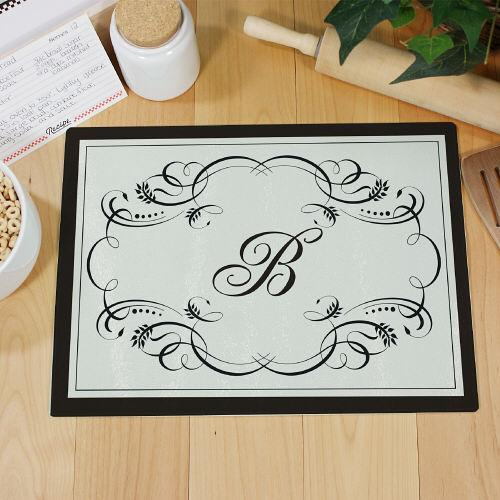 Personalized Monogram Kitchen Cutting Board