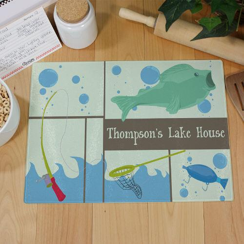 Personalized Fisherman Personalized Cutting Board