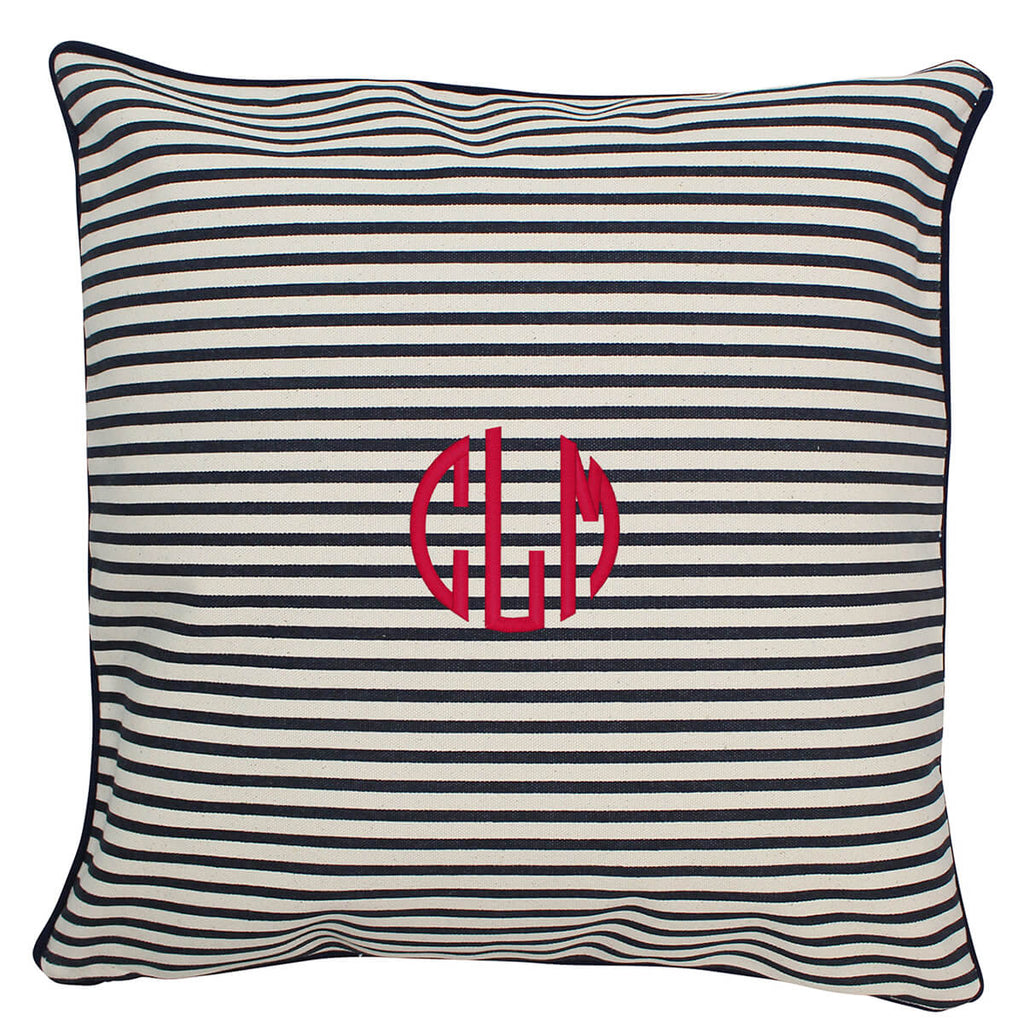 Personalized Monogrammed Pillow With Insert 16 x 16