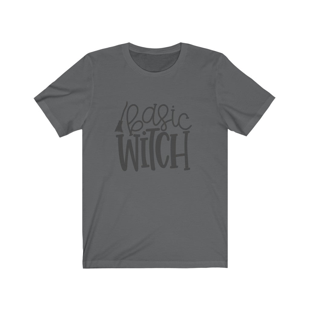 Basic Witch Halloween T-Shirt - Short Sleeve Tee