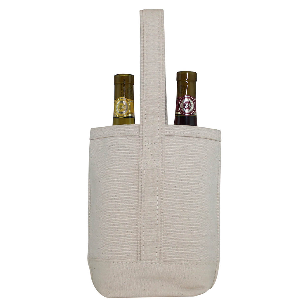 Personalized Wine Tote Bag