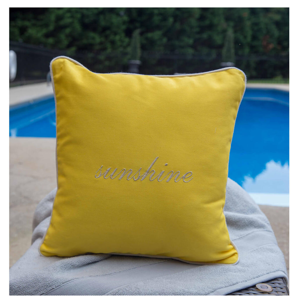 Personalized Pillow Monogrammed With Insert 20 x 20