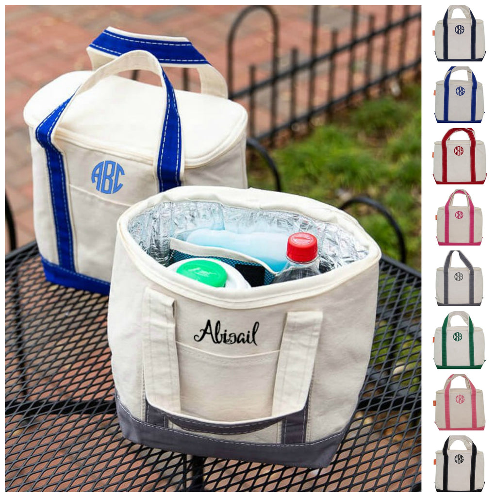 Personalized Individual Lunch Tote Cooler Bag