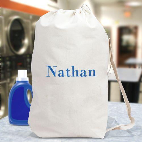 Personalized Embroidered Any Name Laundry Bag