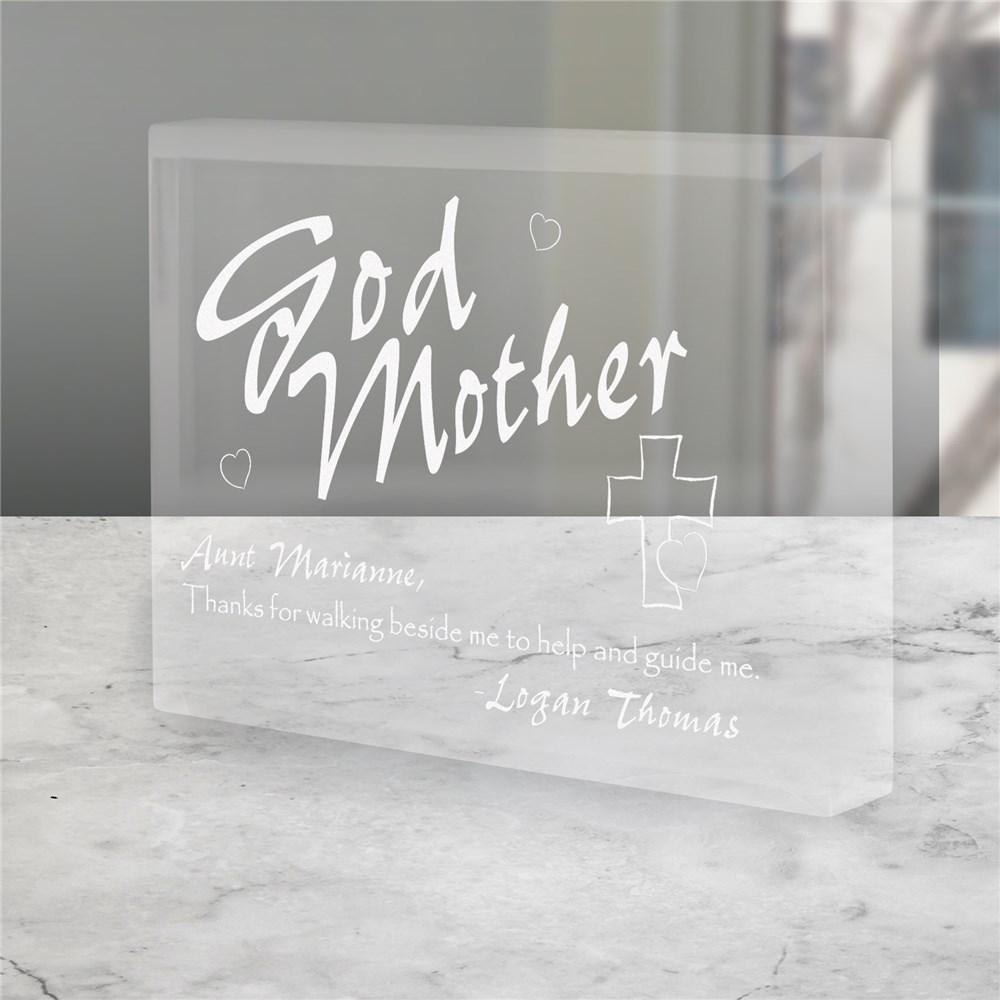 Personalized Godmother Keepsake
