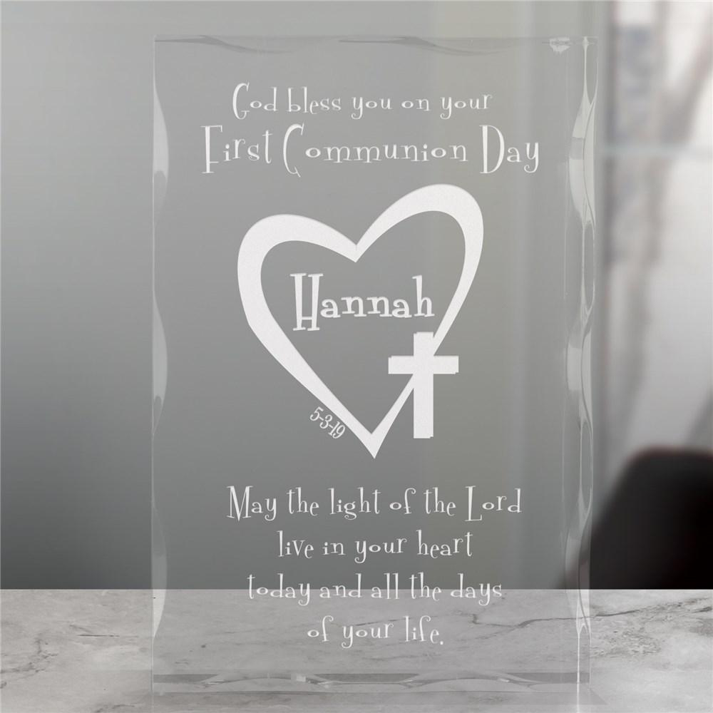Personalized First Communion Keepsake