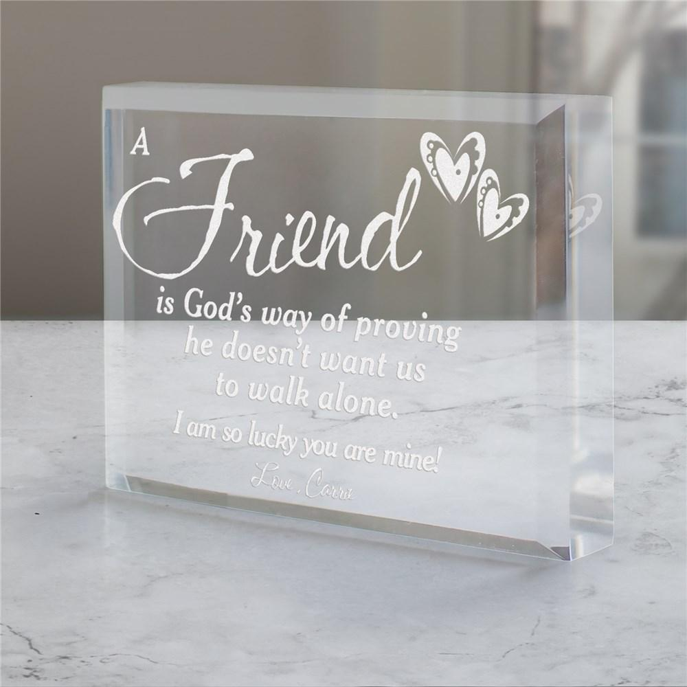 Personalized Religious Keepsake