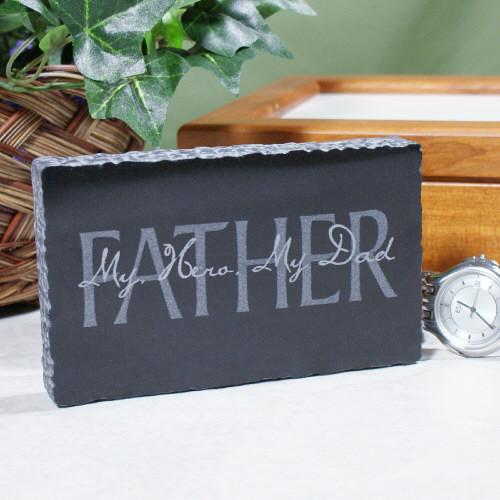 Personalized Fathers Day Marble Keepsake
