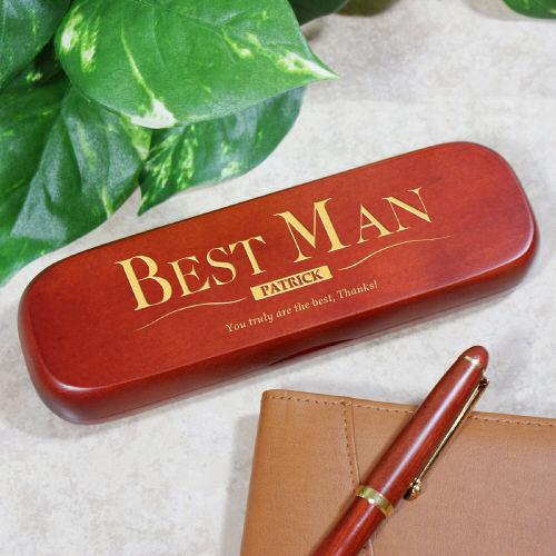 Personalized Best Man Pen Set