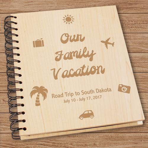Personalized Our Vacation Photo Album