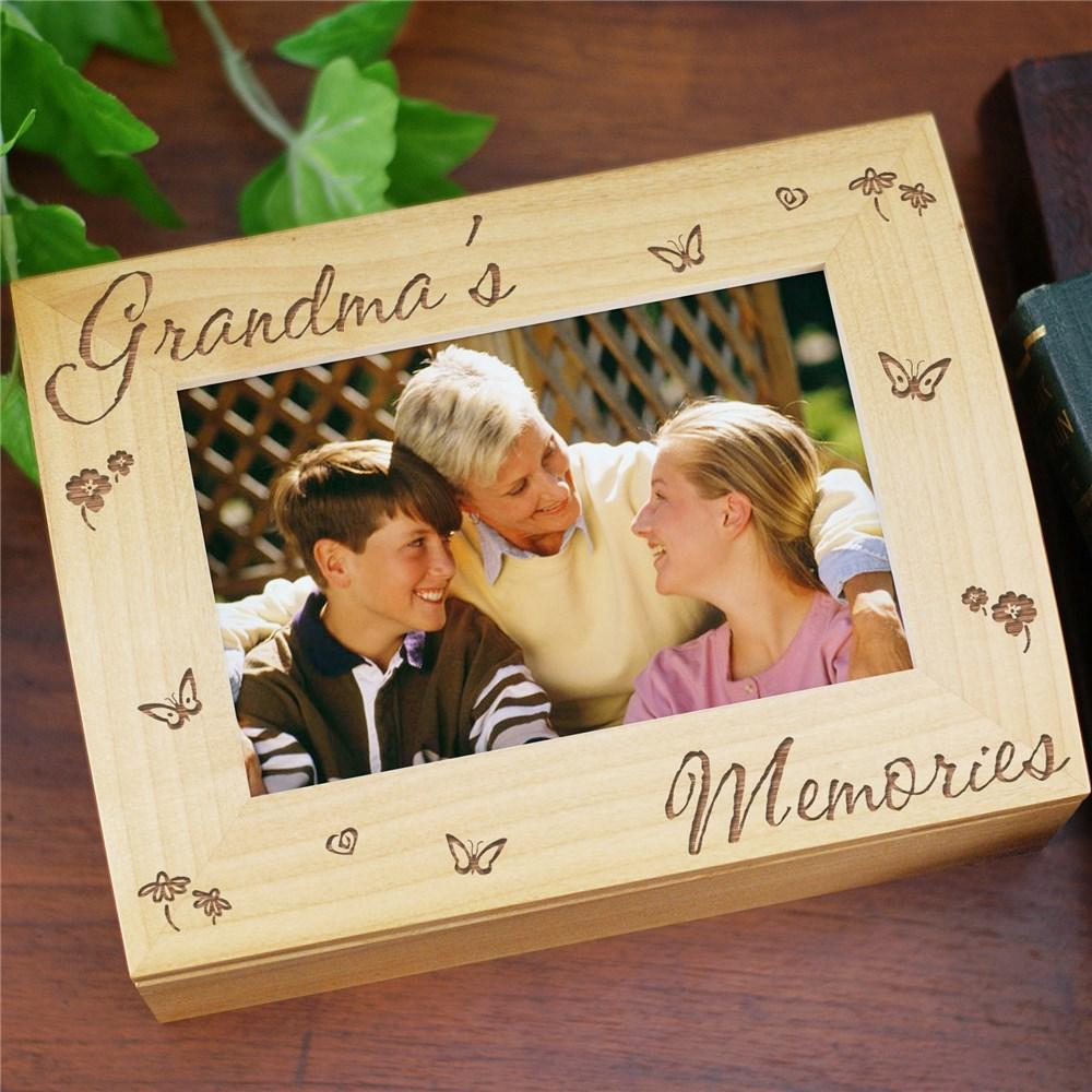 Personalized Memory Photo Keepsake Box