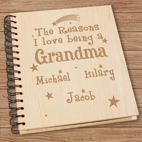 Personalized Reason I Love Photo Album