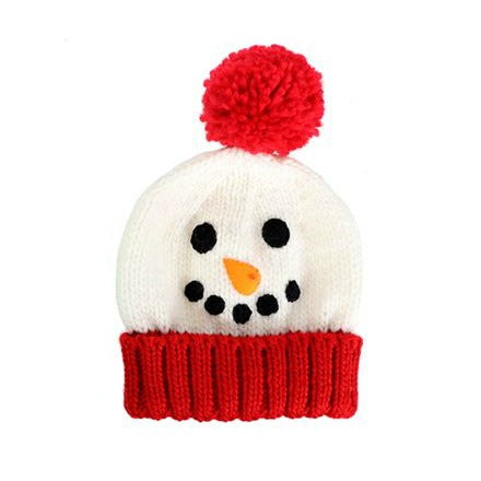 Christmas Beanie Hat - Knit