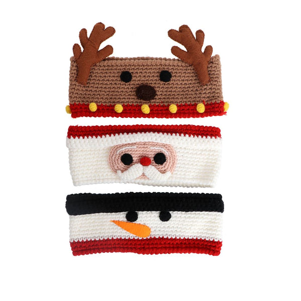Knit Christmas Headbands