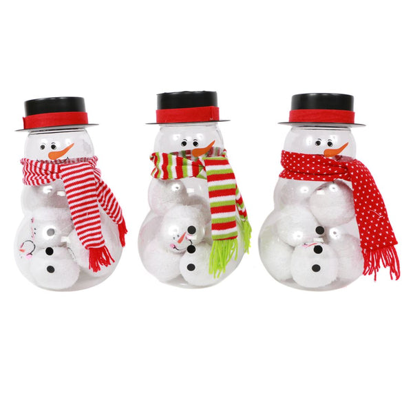 Indoor Snowball Fight Kit Snowman
