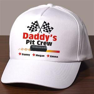 Personalized Pit Crew Hat