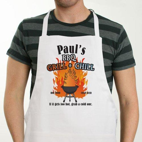 Personalized Grill & Chill Apron