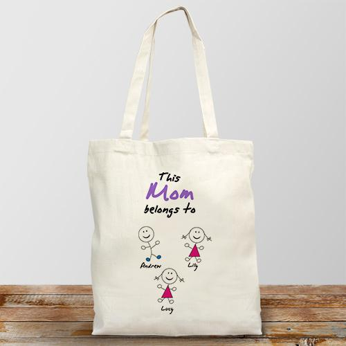 Personalized Belongs To Tote