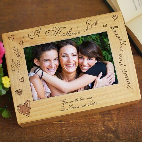 Personalized A Mother's Love Photo Keepsake Box