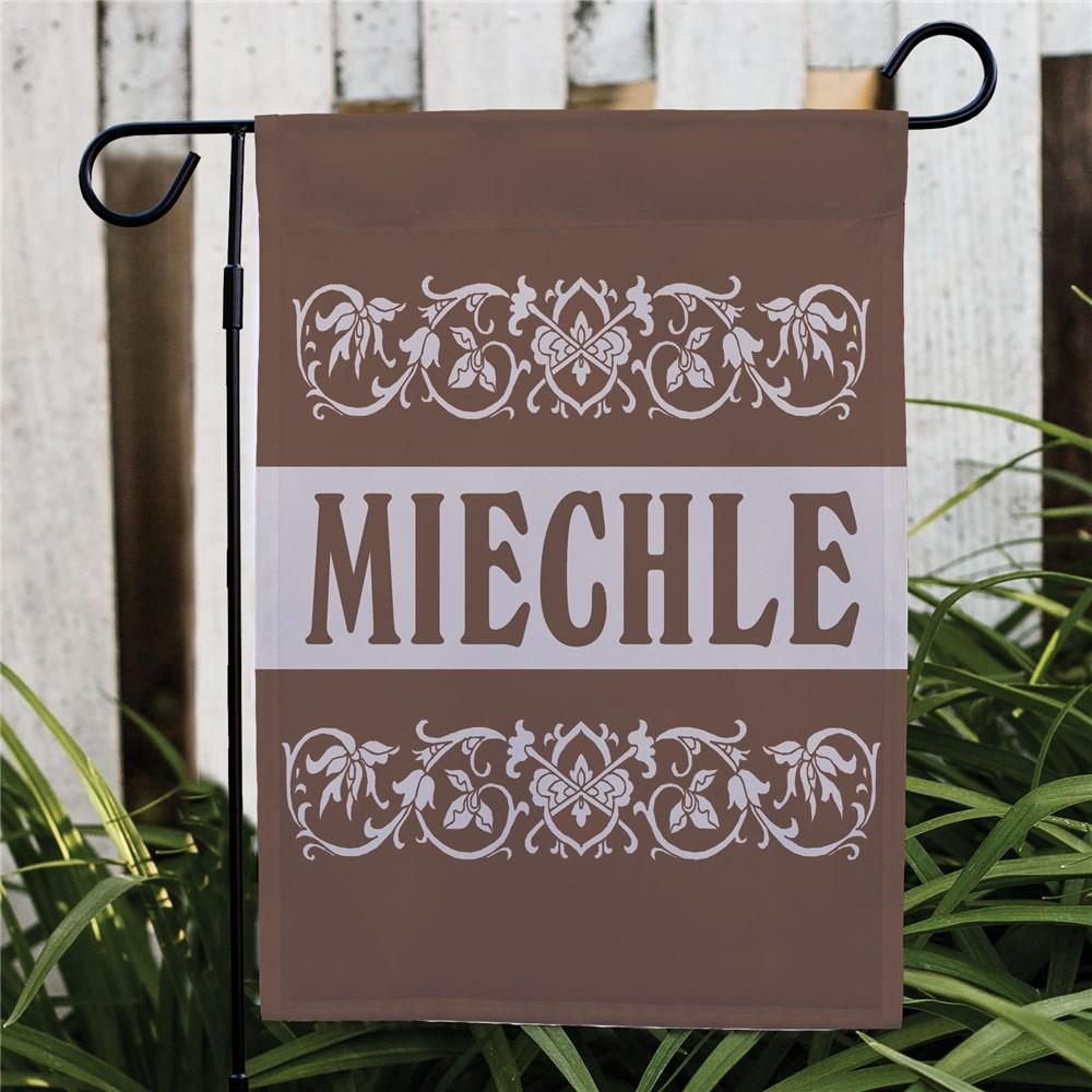 Personalized Our Family Welcome Garden Flag
